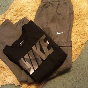 Mens Nike shirt and pants